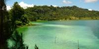 pemandangan danau linow, Tomohon