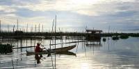 perahu danau limboto gorontalo