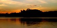 sunset pantai nambo sulawesi