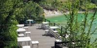 tempat istirahat di danau linow tomohon