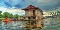 Rumah Apung Danau Tempe