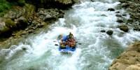 rafting sungai sadan