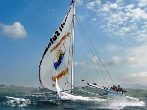 Perahu Sandeq dari Suku Mandar