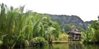pegunungan karts rammang sulawesi selatan