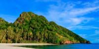 perbukitan pulau mahoro sulawesi utara