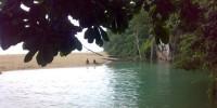 kesejukan sungai taborasi kolaka sulawesi tenggara